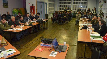 Sexta sesión del consejo comunal de seguridad pública de Temuco en Pedro de Valdivia