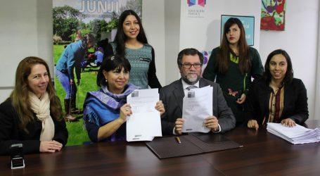 16 Jardines infantiles son traspasados al servicio Costa Araucanía