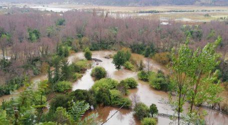 272 personas continúan aisladas y 49 damnificadas en La Araucanía por pasó de sistema frontal