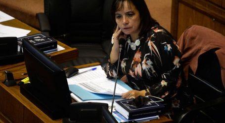 """Senadora  Aravena: """"Respeto la voluntad de gendarmería pero no la comparto"""""""