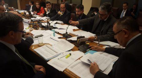 Senador Huenchumilla en comisión mixta sobre cohecho