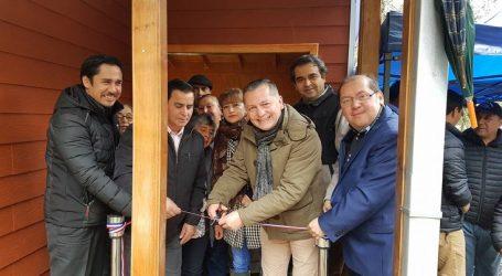 Sector rural La Cascada de Pitrufquén inauguró anhelada sede social