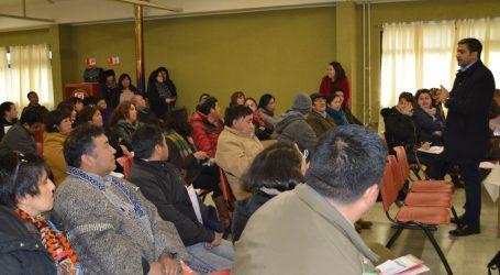 Ministro Sichel anuncia que consulta indígena tendrá una pausa indefinida