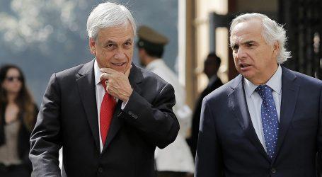 Piñera destaca posicionamiento de Lavín