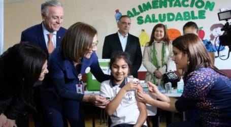Se inicia vacunación a escolares contra papiloma humano
