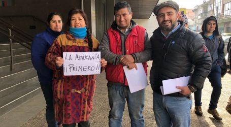 Core Sandoval pide a Presidente Piñera cumplir con La Araucanía