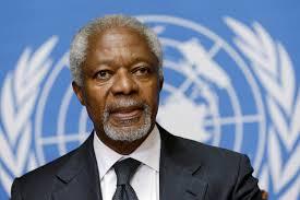 Muere Kofi Annan  ex secretario de la ONU
