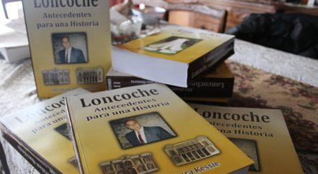 Abraham Abara Kessie  lanzará nueva edición de la Historia comunal de Loncoche