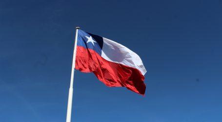 Pucón una tradición que llegó para quedarse, izamiento de bandera gigante