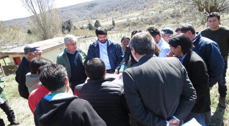 Lonquimay: entregan terrenos para las nuevas escuelas de Marimenuco  y Mitrauquén