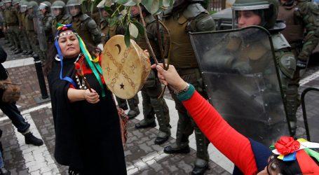 Mapuche marcharon contra Acuerdo por La Araucanía