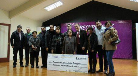 Pitrufquén entrega recursos a ganadores de «Presupuestos Participativos 2018»
