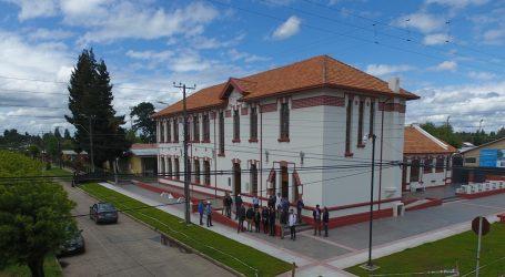 Centro cultural de Renaico 100% restaurado