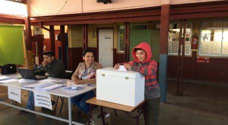 Exitosa votación de presupuestos participativos estudiantiles en Lautaro