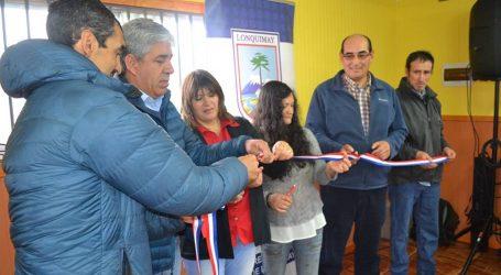 Huallipulli inaugura sede social en Lonquimay