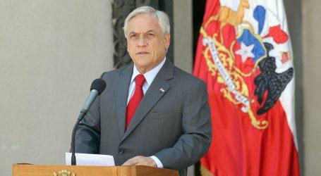 """En mensaje de fin de año Piñera reitera llamado a la """"unidad"""""""