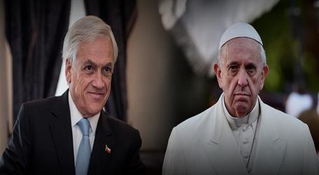 Papa Francisco recibió a Piñera en el Vaticano