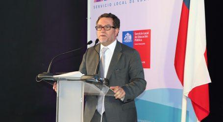 Director ejecutivo del SLEP Costa Araucanía entrego cuenta pública
