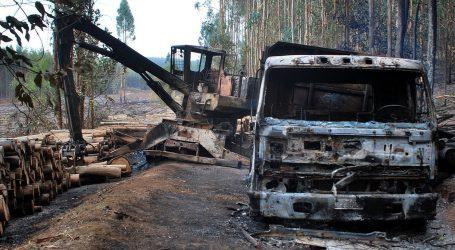 La Araucanía: nueva jornada de incidentes terminó con 10 camiones y tres maquinarías quemadas