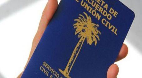 500 parejas en la región han optado por el acuerdo de unión civil