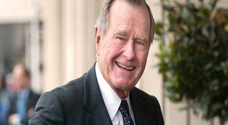 El adiós a George H.W Bush