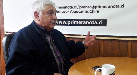 """Juan Aceitón: """"Los dirigentes de la Democracia Cristiana me han dejado solo"""""""