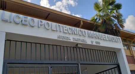 Victoria tiene Liceo Bicentenario: Politécnico Manuel Montt
