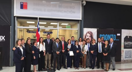 Inauguran oficina del Registro Civil en mall Easton Outlet