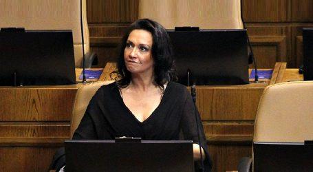 Diputada Santibáñez no se presentará en el congreso durante esta semana