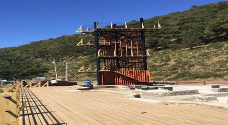 Mirador principal: Lonquimay inaugura nuevo aporte arquitectónico al turismo