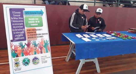 Buscan ampliar participación en el Consejo Comunal de Niñas, Niños y Adolescentes en Victoria