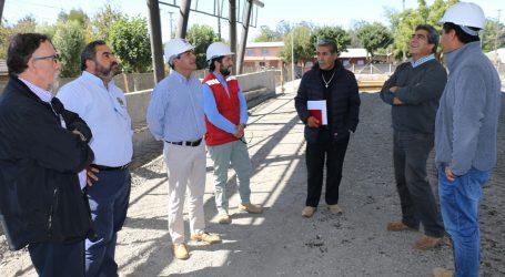MOP trabaja en mejoramiento del casco histórico de la ciudad de Lautaro