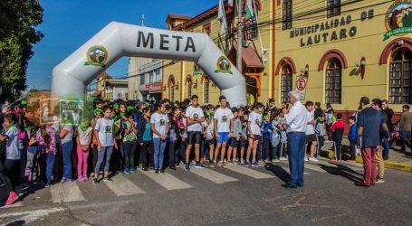 Día de la Actividad Física: Masiva Corrida Escolar en Lautaro
