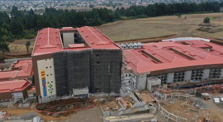 Hospital de Padre Las Casas presenta más del 73% de avance