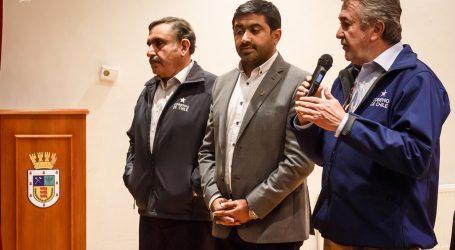 Victoria : Municipio y autoridades regionales se unen para entregar soluciones después de incendio del Mercado