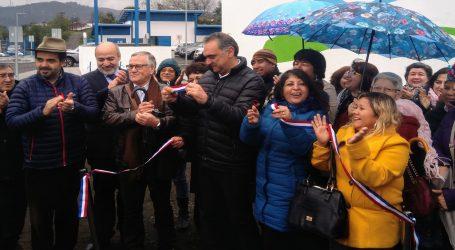 Nueva planta de agua potable se inaugura en Padre Las Casas