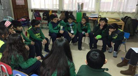 Lautaro trabaja por fortalecer la convivencia escolar