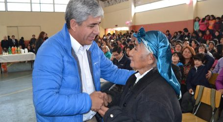 Lonquimay: Alcalde Nibaldo Alegría rinde cuenta pública con histórica inversión en vivienda