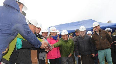 Instalaron Primera Piedra de nuevo Gimnasio Municipal de Pucón