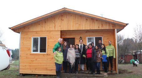 Lautaro: Familias de sectores rurales mejoran su calidad de vida a través de programa de habitabilidad