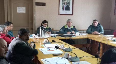 Lonquimay y MOP cordinan plan invernal para el despeje de caminos cordilleranos