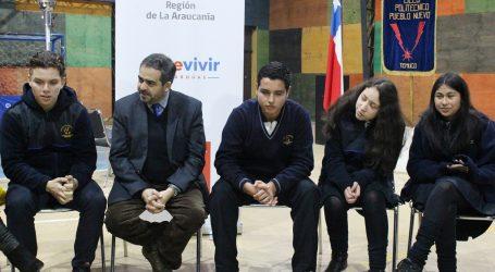 Senador Quintana participó de conversatorio con estudiantes en el Día Internacional de la Prevención