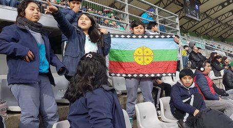 Alumnos de Lautaro asistieron a partido de Deportes Temuco v/s Huachipato