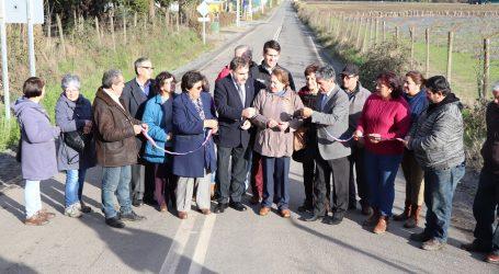 MOP inaugura obras de pavimentación en Angol