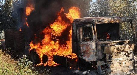 Presunto ataque incendiario ocurrido el domingo en Nueva Imperial