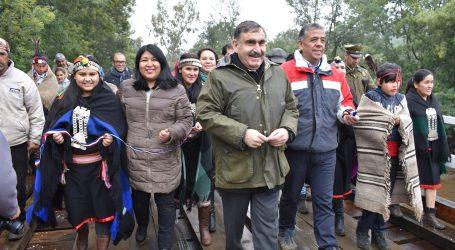 Collipulli inaugura moderno puente que mejora la conectividad y acceso a la comuna