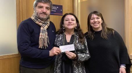 INDAP entrega apoyo a emprendimiento agrícola familiar de Teodoro Schmitd