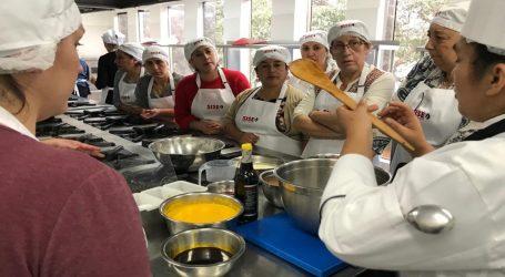 Mujeres emprendedoras gastronómicas de La Araucanía a Perú
