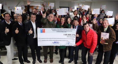 Fondo de Fortalecimiento: Más de 95 millones entre 50 organizaciones distribuyó la Segegob