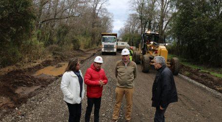 Mop trabaja a toda máquina para obras de pavimentación de Ruta Puente Quillem-Selva Oscura